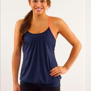 Lululemon No Limits Inkwell / Light Flare Tank Top